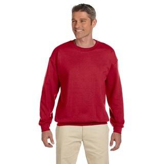 50/50 Super Sweats Nublend Fleece Men's Crew-Neck True Red Sweater