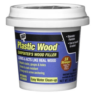 Dap 08114 5.5 Oz Golden Oak Plastic Wood Carpenter's Latex Wood Fille