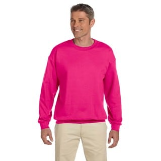 50/50 Fleece Men's Crew-Neck Heliconia Sweater