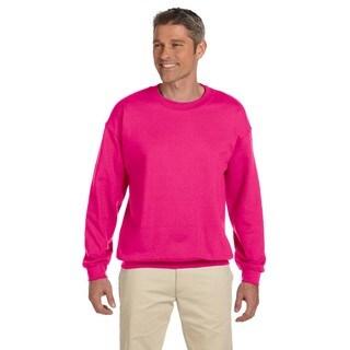 50/50 Fleece Men's Crew-Neck Heliconia Sweater