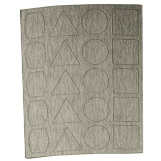 Proxxon 28822 180 Grit Sandpaper 3 Sheets