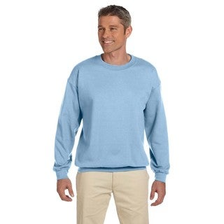 50/50 Fleece Men's Crew-Neck Light Blue Sweater