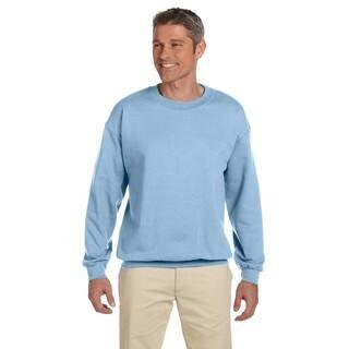 50/50 Fleece Men's Crew-Neck Light Blue Sweater