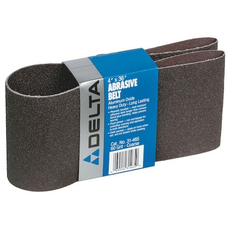 """Porter Cable 31-465 4"""" x 36"""" 60 Grit Abrasive Sander Belt"""