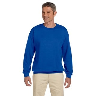 50/50 Fleece Men's Crew-Neck Royal Sweater