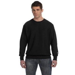 Men's Crew-Neck Black Sweater