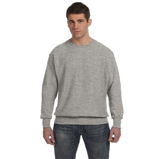 Men's Crew-Neck Oxford Grey Sweater