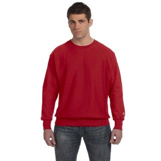 Men's Crew-Neck Scarlet Sweater