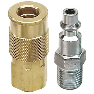 """Campbell Hausfield MP5155 1/4"""" NPT Industrial Coupler & Plug"""
