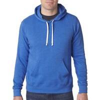 Triblend Men's Pullover Fleece Hood Royal Triblend Sweater