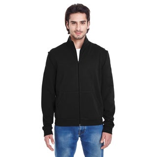 Unisex California Fleece Black Zip Jogger