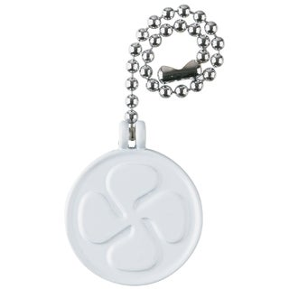 Westinghouse 7722500 White Fan Design Pull Chain