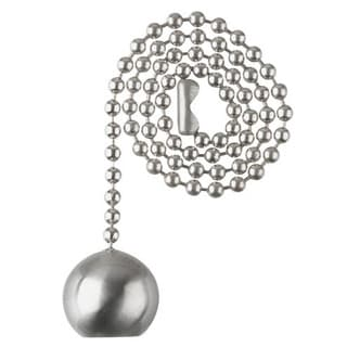 Westinghouse 7721700 Brushed Nickel Ball Pull Chain