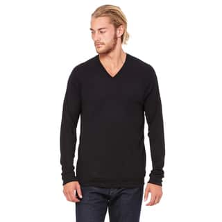 Unisex Black V-Neck Lightweight Sweater|https://ak1.ostkcdn.com/images/products/12405007/P19224897.jpg?impolicy=medium