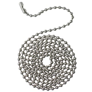 Westinghouse 7710700 12' Chrome Beaded Chain With Connector