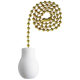 Westinghouse White 12 in. in. L Decorative Pull Chain