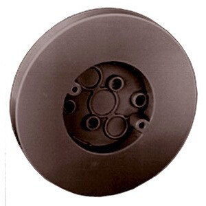 """Thomas & Betts 5080-BR 6-1/2"""" Brown Round Box With Flat Screw"""