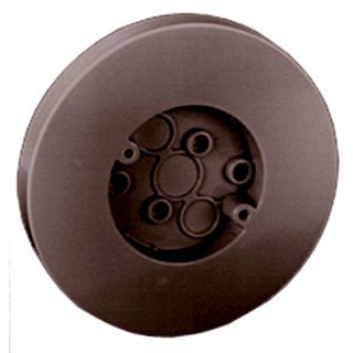 "Thomas & Betts 5080-BR 6-1/2"" Brown Round Box With Flat Screw"