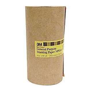 "3M MPG6 6"" X 60 Yards Hand-Masker General Purpose Masking Paper"