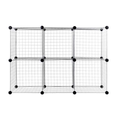 Everyday Home Modular Mesh Storage Cube - 6 Pack