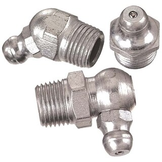 Silver Metal Assorted Grease Fittings