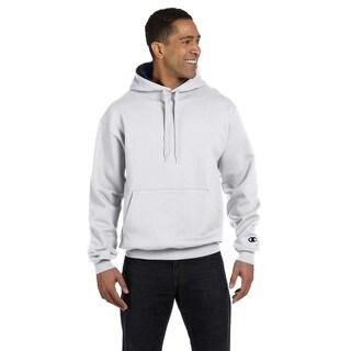 Men's Pullover White Heather/Sport Dark Navy Hood