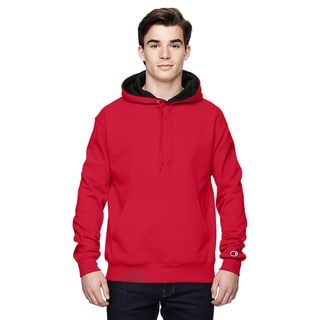 Men's Pullover Sport Red/Athletic Heather Hood(S, XL)