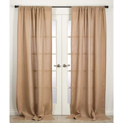 """Margaux Collection Linen Curtain Panel - 42"""" x 96"""" - 42"""" x 96"""""""