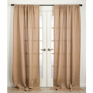 "Margaux Collection Linen Curtain Panel - 42"" x 96"""