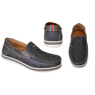 Frenchic Collections Men's Slip-on Loafers (Option: Grey - 7.5)