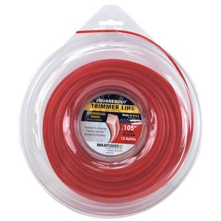 Maxpower 332105C .105-inch X 180-foot Square Trimmer Line