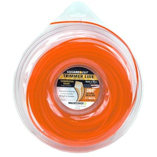 Maxpower 332195 .095-inch X 250-foot Orange Square Cut Trimmer Line