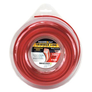 Maxpower 332205 .015-inch x 90-foot Square One Trimmer Line
