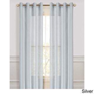 Malibu Sheer 84-Inch Curtain Panel Pair