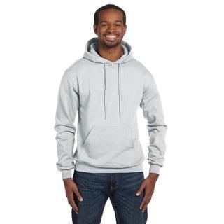 Men's Pullover Silver Grey Hood