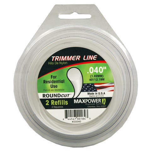Maxpower 333040 .040-inch x 40-foot Trimmer Line