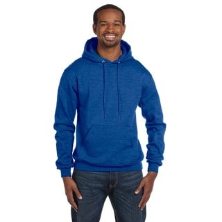 Men's Pullover Royal Blue Heather Hood (XL)