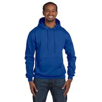 Men's Pullover Royal Blue Hood