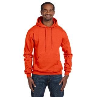 Men's Pullover Orange Hood