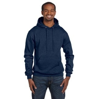 Men's Pullover Navy Heather Hood (XL)