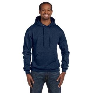 Men's Pullover Navy Heather Hood