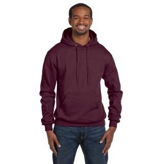 Men's Pullover Maroon Hood