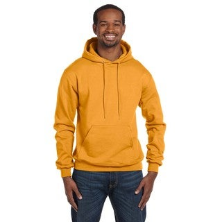 Men's Pullover Gold Hood