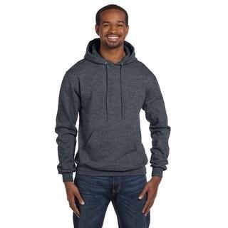 Men's Pullover Charcoal Heather Hood