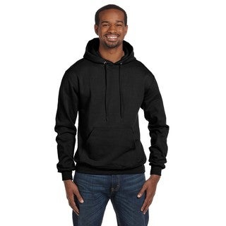 Men's Pullover Black Hood (XL)