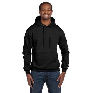 Men's Pullover Black Hood