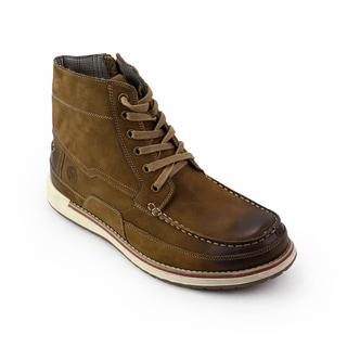 Unionbay Men's Mattawa Leather Lace-up Boots