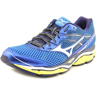 Mizuno Men's Wave Enigma 5 Blue Mesh Athletic Shoes