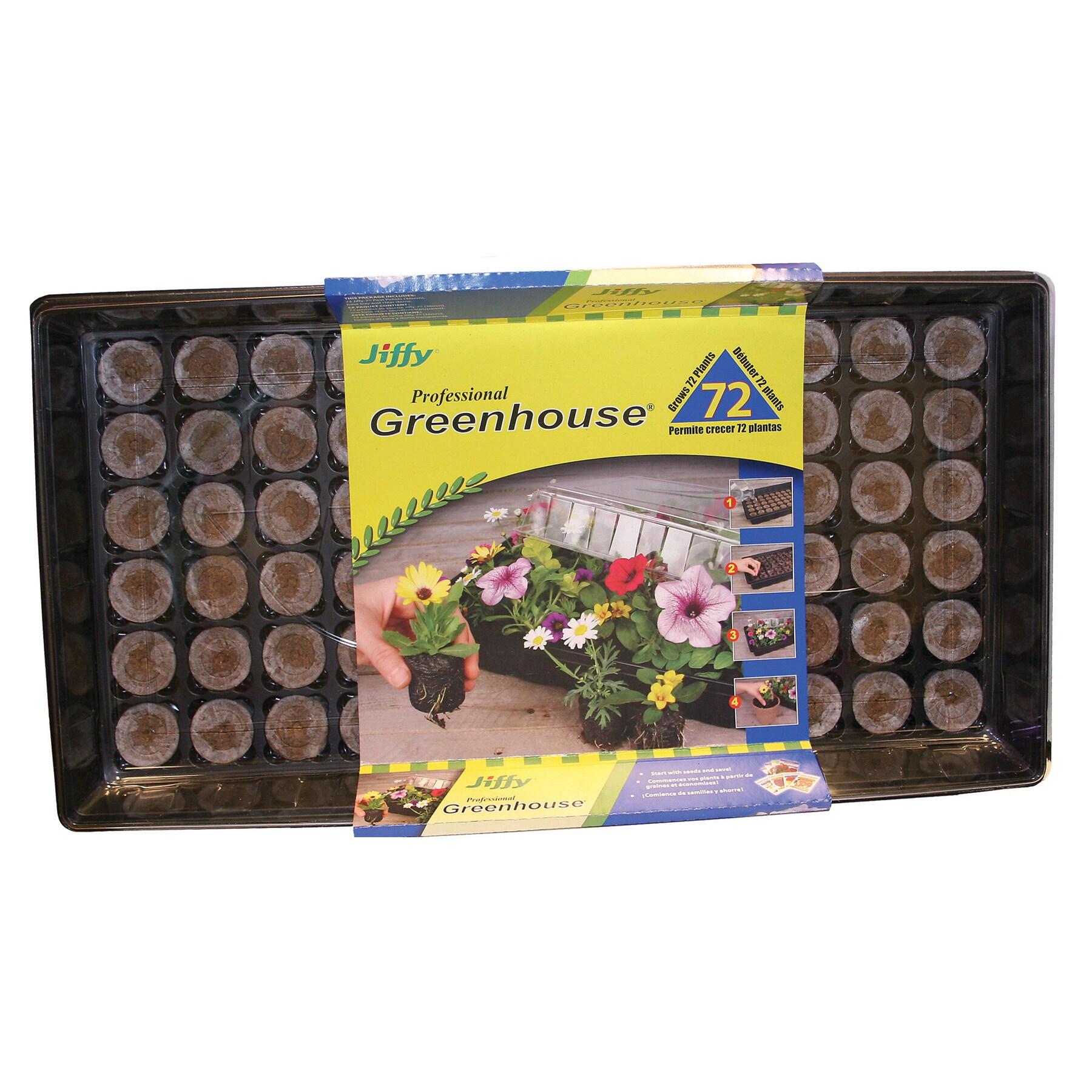Jiffy J372 Professional Greenhouse Kit (Plant Starters), ...