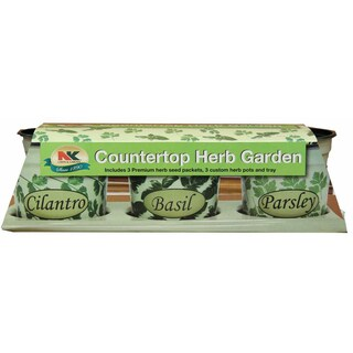 Jiffy K3H-countertop Herb Garden Kit 7-count `